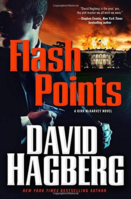 Hagberg, David / Flash Points (Hardback)