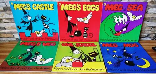 Meg & Mog (10 Book Collection)