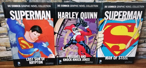 DC Comics Graphic Novel Collection (3 Book Collection)