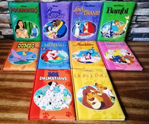 Walt Disney's (10 Book Soft Cover Collection)
