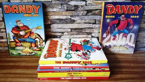 The Dandy Annual (8 Book Collection)