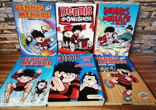 Dennis the Menace (6 Book Collection)