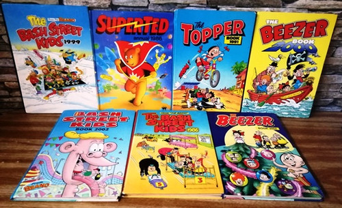 Old Comic Annuals (7 Book Collection)