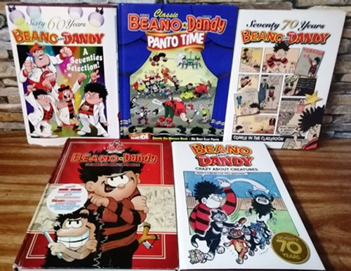 The Beano & The Dandy (5 Book Collection)