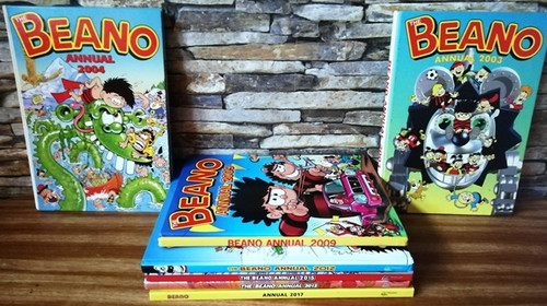 The Beano Annual (7 Book Collection)