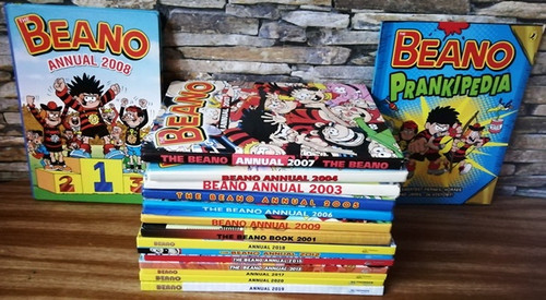 The Beano Annual (16 Book Collection)