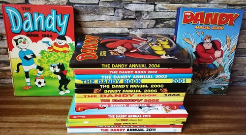 The Dandy Annual (16 Book Collection)