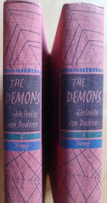 von Doderer, Heimito - The Demons ( Die Damonen) - HB Novel in two Volumes , Knopf USA , 1961 - Translated from the original German by Richard & Clara Winston) Die Dämonen: Nach der Chronik des Sektionsrates Geyrenhoff
