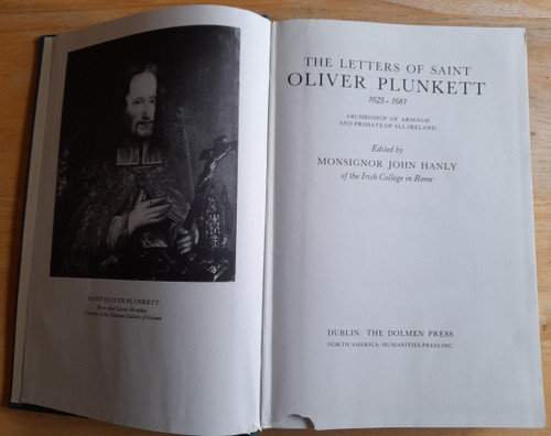 Hanly, John ( Editor) Letters of Saint Oliver Plunkett : 1625-1681  - HB - Dolmen Humanities Press - 1979