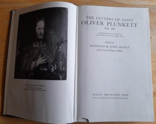 Hanly, John ( Editor) Letters of Saint Oliver Plunkett : 1625-1681  - HB - Dolmen Humanities Press - 1979
