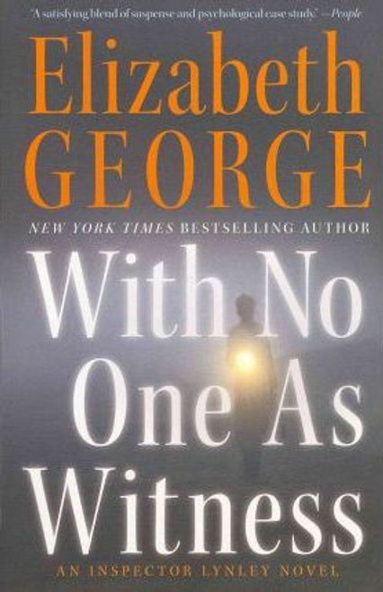 George, Elizabeth / With No One as Witness (Large Paperback)