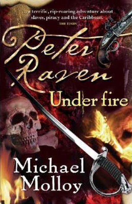 Molloy, Michael / Peter Raven Under Fire (Large Paperback)