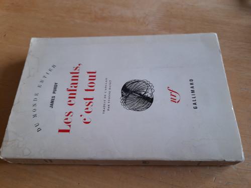 Purdy, James - Les Enfants , C'est tout - PB Gallimard - 1968 - In French