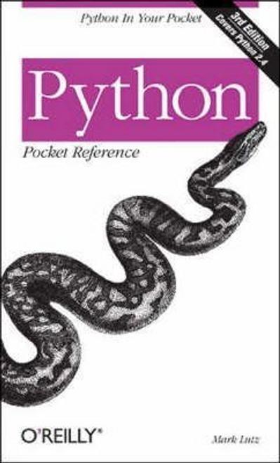 Lutz, Mark / Python Pocket Reference