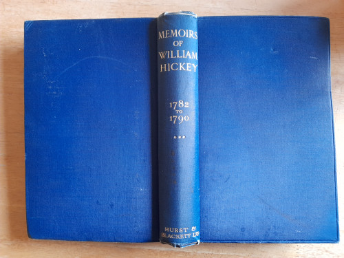 Spencer, Alfred ( Editor)  - Memoirs of William Hickey :  Volume III ( 1782-1790) - India   2nd Editio 1923