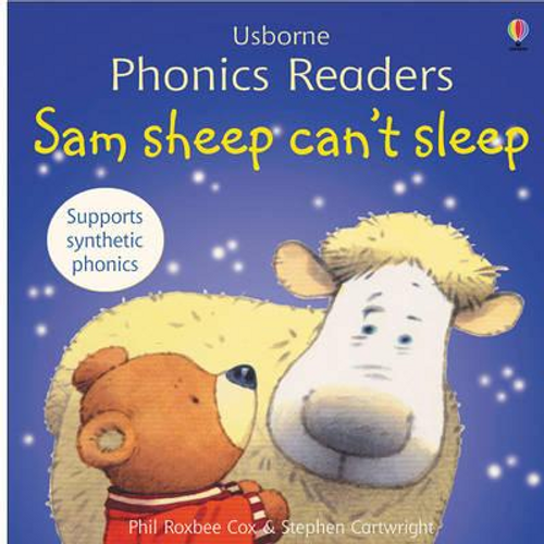 Cox, Phil Roxbee / Sam sheep can't sleep (Children's Picture Book)