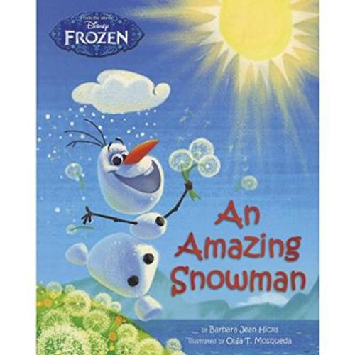 Disney Frozen: An Amazing Snowman (Children's Picture Book)