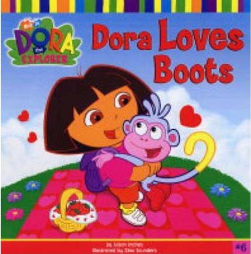 Dora the Explorer: Dora Loves Boots (Children's Picture Book)