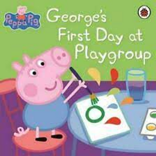 Peppa Pig: Georges First Day at Playground (Children's Picture Book)