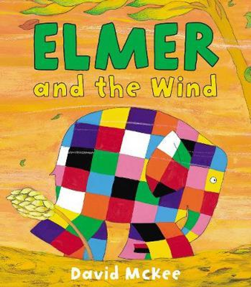 McKee, David / Elmer and the Wind (Children's Picture Book)