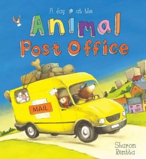 Rentta, Sharon / A Day at the Animal Post Office (Children's Picture Book)
