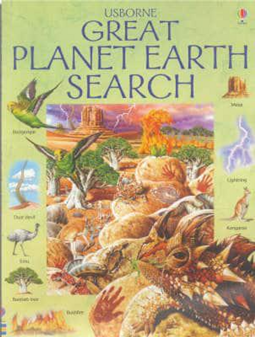 Helbrough, Emma / The Great Planet Earth Search (Children's Picture Book)