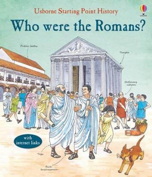 Cox, Phil Roxbee / Who Were the Romans? (Children's Picture Book)