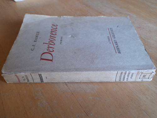 Ramuz, C.F - Derborence - PB - 1949 ( Originally 1934) - IN FRENCH