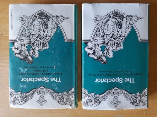 Addison, Joseph & Steele, Richard - The Spectator : Volume 1 & 2 - HB Everyman's Library