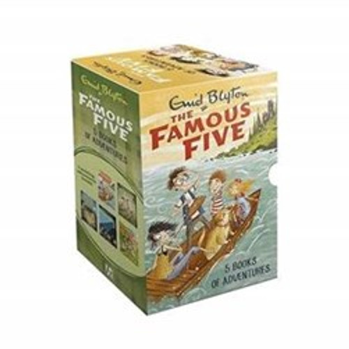 Blyton, Enid - Famous Five Slipcase Box Set - Books 1-5 - SEALED & BRAND NEW