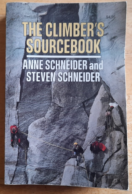 Schneider, Anne & Steven - The Climber's Sourcebook - PB - 1976 - Mountaineering in the USA