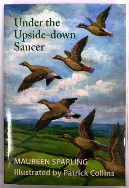 Maureen Sparling / Under The Upside-down Saucer (Signed by the Author) (Paperback) (1)