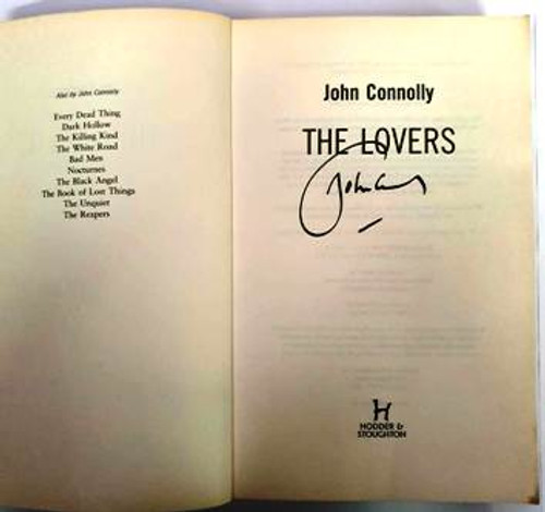 John Connolly / The lovers (Signed by the Author) (Paperback)