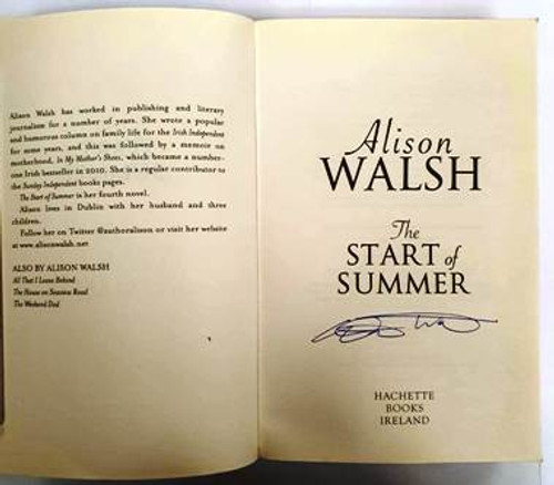 Alison Walsh / The Start Of Summer (Signed by the Author) (Paperback)