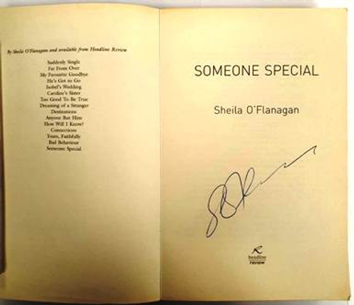 Sheila O'Flanagan / Someone Special (Signed by the Author) (Paperback)