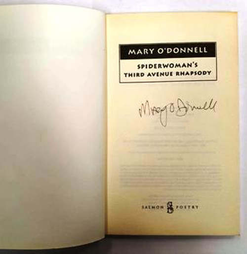 Mary O'Donnell / Spiderwoman's Third Avenue Rhapsody (Signed by the Author) (Paperback)