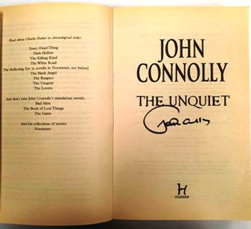 John Connolly / The Unquiet (Signed by the Author) (Paperback)
