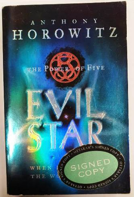 Anthony Horowitz / Evil Star (Signed by the Author) (Paperback)