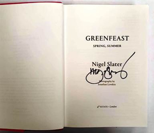 Nigel Slater / Greenfeast (Signed by the Author) (Hardback)