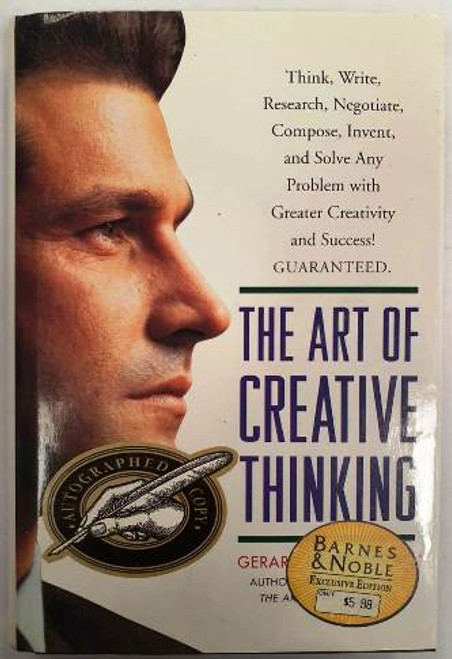 Gerard I. Nierenberg / The Art Of Creative Thinking (Signed by the Author) (Hardback)