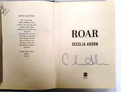 Cecelia Ahern / Roar (Signed by the Author) (Hardback)