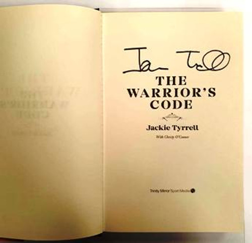 Jackie Tyrrell / The Warrior's Code (Signed by the Author) (Hardback)