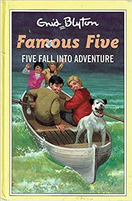 Blyton, Enid / Five Fall into Adventure (Hardback)