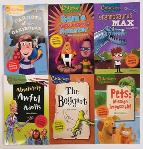 Chucklers Fun Fiction  (10 Book Collection)