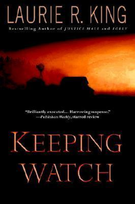 King, Laurie R. / Keeping Watch (Large Paperback)