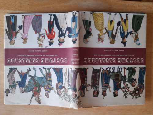 Hansen, Henny Harald - Costume Cavalcade - 685 Examples of Costume in Colour - HB -1964