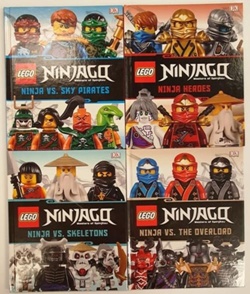 Lego Ninjago: Masters of Spinjitzu (10 Hardback Book Collection)