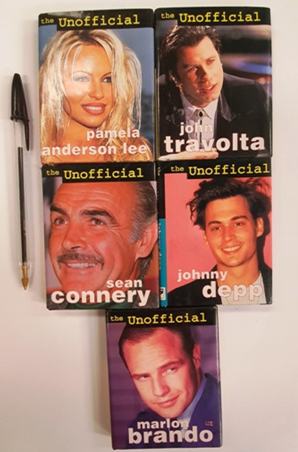 The Unofficial Biographies  ( 5 Small Hardback Book Collection)