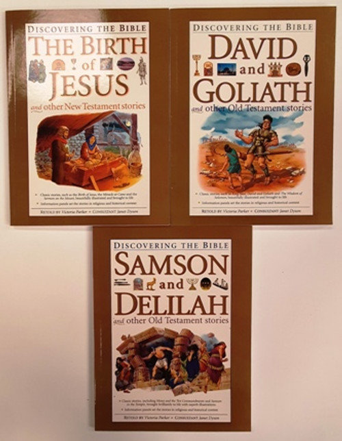Discovering The Bible (7 Book Collection)