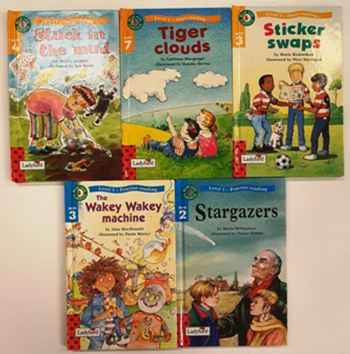 Read with Ladybird (5 Hardback Book Collection)